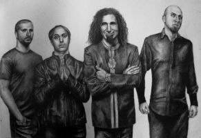 System of a Down by xoAyame