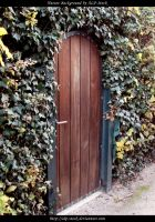 Garden Door by ALP-Stock