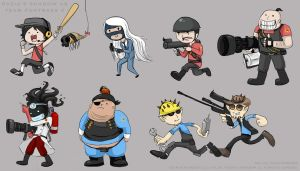 Razia's Shadow actII as Team Fortress 2 by Chocoreaper