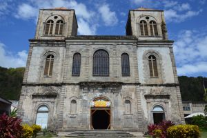 Cathedral of Saint-Pierre in Martinique by A1Z2E3R