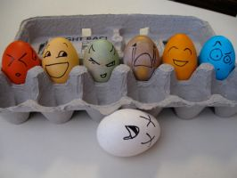 Egg Drama by chasseur9