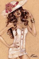Fashion Illustration by karolina1994