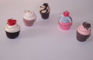 Cupcakes collection by PookieTookieJewelry