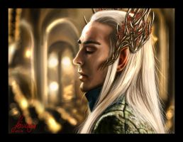 Thranduil by Feivelyn