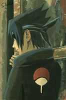 Cover201 Sasuke in Dark by Sherlock2008