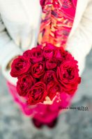 Day 156: A bouquet of Roses by umerr2000