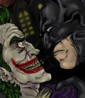 BATMAN AND THE JOKER by Luffiexxx