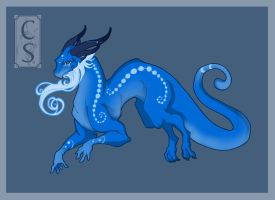 -Trade- Blue Dragon by Mythka
