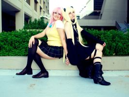 Golden Darkness and Lala by Hikari-Cosplay