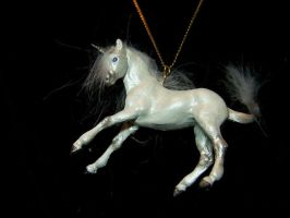 ooak unicorn pendant 1 by AmandaKathryn