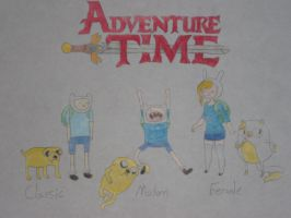 Finn and Jake Generations by rabbidlover01