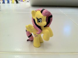 Fluttershy Commission Blind Bag Custom by Kwockodile
