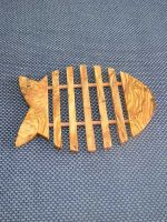 Wooden Fish Shaped Trivet by TunisiaBazaar