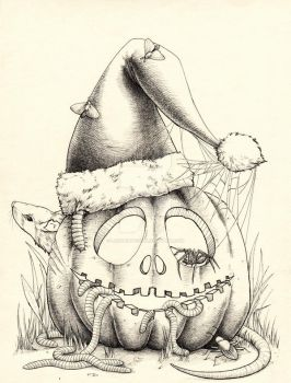 The Pumpkin King by LaughingFish