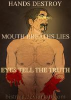Eyes tell the truth by Bistraja