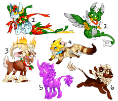 Christmas Adopts [CLOSED] by Touque