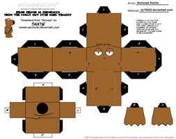 Cubee FAMILY GUY STAR WARS Brian as Chewbacca 1/2 by njr75003