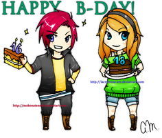 Happy Birthday by Lacrymosa-AM
