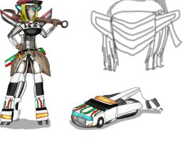 Transformers: Recoded- Wheeljack by Skylight22