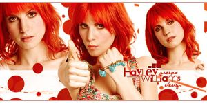 Hayley Williams Banner by Cre5po