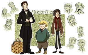 Tuesday Kids by NatAsplund