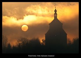 Visiting the Adams Family by Gautama-Siddharta