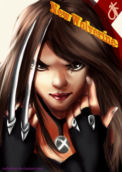 X-23 The New Wolverine by Rochefore