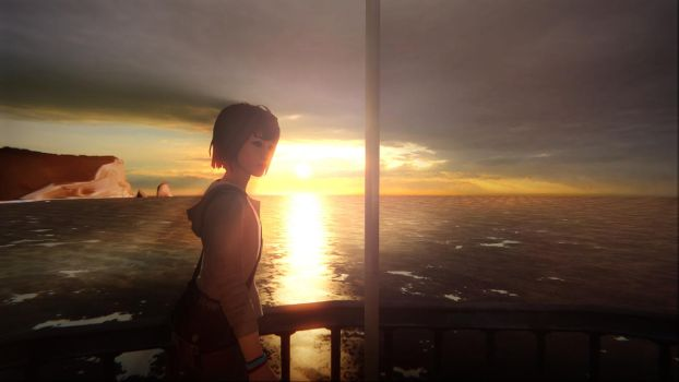 Life is strange - A stroll by the lighthouse by supergoal