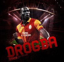 Didier Drogba by KemalEkimGraphic