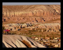 Goreme Valley by gianf