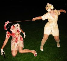 Silent Hill Nurse fight by Safiriel