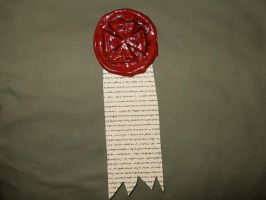 Warhammer40k Purity Seal Prop by Septs-Shadow