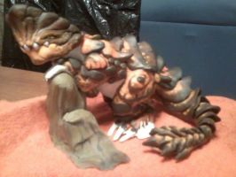 Monster Hunter Tri - Barroth Sculpture by FloridianPirate
