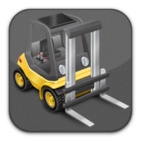 Forklift icon by flakshack