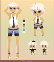 Custom Surfer Adoptable by Andreia-Chan