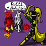 KNEEL by Roguelucifer