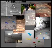 IN01 - Footsteps by haiderali