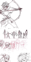 aLive: sketchdump 1 by BreiGrace