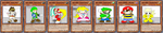 Pixel Hero cards by Fortuneteller102