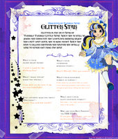 Glitter Star Ever After High OC by Sakuyamon