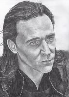 Loki, God of Mischief by thedoctor-donna