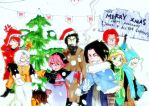 GREATEST CHIBI CHRISTMAS EVER by odunze