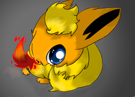 Flareon's flame by Chaomaster1
