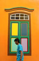 Colours of Little India by Endromeda