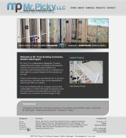 Mr. Picky Website by fireproofgfx