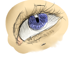 eye by gardenflowers