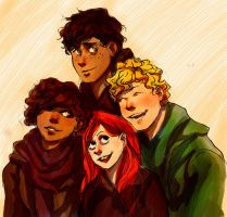 Belvidere: my characters by pebbled