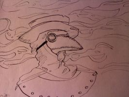 Plague Doctor by Chrissytor