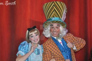 Alice and the Mad Hatter by BellesAngel