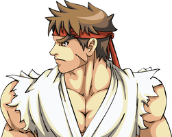 Ryu - Street Fighter by mikael123